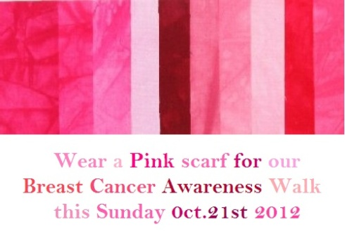 Walk for awareness!